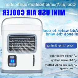 Air Conditioner Fan Mini USB Cool Bedroom Desk Portable Cool