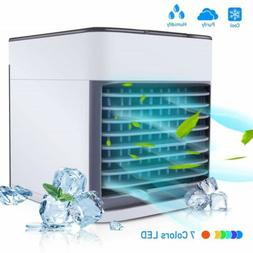 Air Conditioner USB Portable Home Cooler Cooling Fan Water I