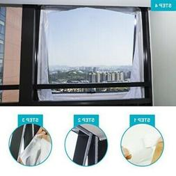 Airlock Window Sealing For Mobile Air Conditioners And Exhau