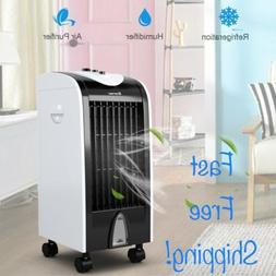 Costway Evaporative Portable Air Conditioner Cooler with Fil