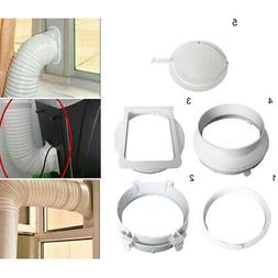 Easy to Install Exhaust Duct Interface Portable Duct 15cm Hi