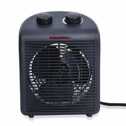Homesmart 2 in 1 All Weather Black Heater/Fan with 2 Speed H