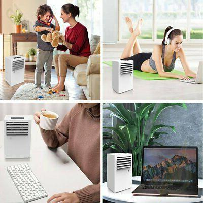 3-in-1 Personal Space Cooler Humidifier Purifier White