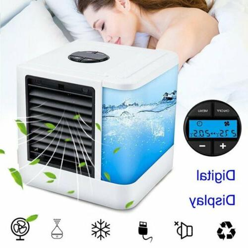 Mini Air Conditioner Cool Cooling Air Cooler Humidifier