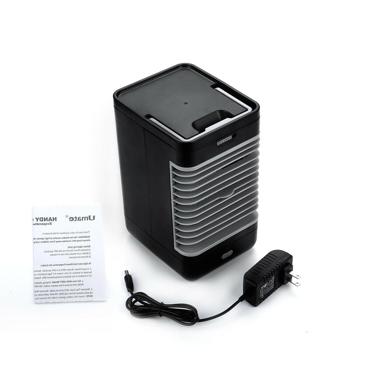 Portable Air Cooler Fans Humidifier Evaporative Cooling Cool Fan