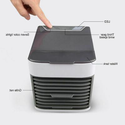 Desk Portable Air Conditioner Cooler Air Purifier Neck Pool