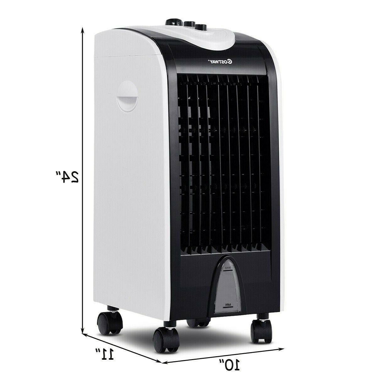 Evaporative Cooler with Filter Honeycomb Cooling
