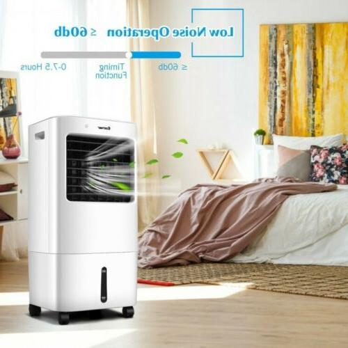 Evaporative Portable Fans Conditioner Remote Control Cooling 4 Speed