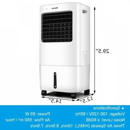 Evaporative Air Fans Conditioner Remote Control Cooling 4 Speed