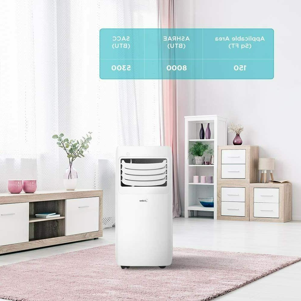 MIDEA MAP08R1CWT 3-in-1 Air Conditioner Dehumidifier for up