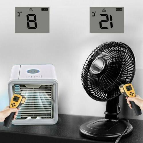 USB Air Conditioner Portable Summer Space Cooling Artic Fan Humidifier