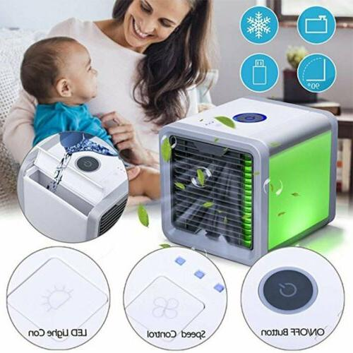 USB Air Conditioner Cooler Portable Summer Space Cooling Art