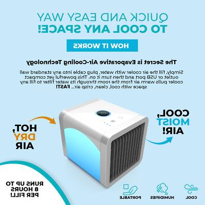 Personal Cooler Air Conditioner unit Air Fan Humidifier Purifier US