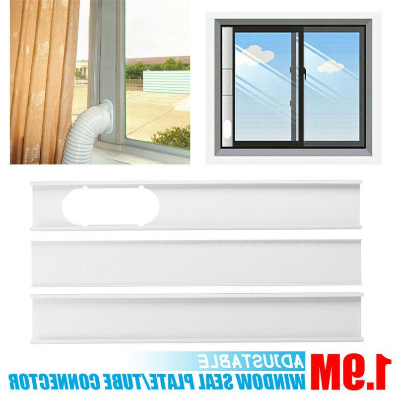 Portable Adjustable Portable Air Conditioner Window Kit Plate Wind
