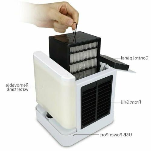 Mini Air Conditioner Water Cool Cooling Air Cooler Humidifier