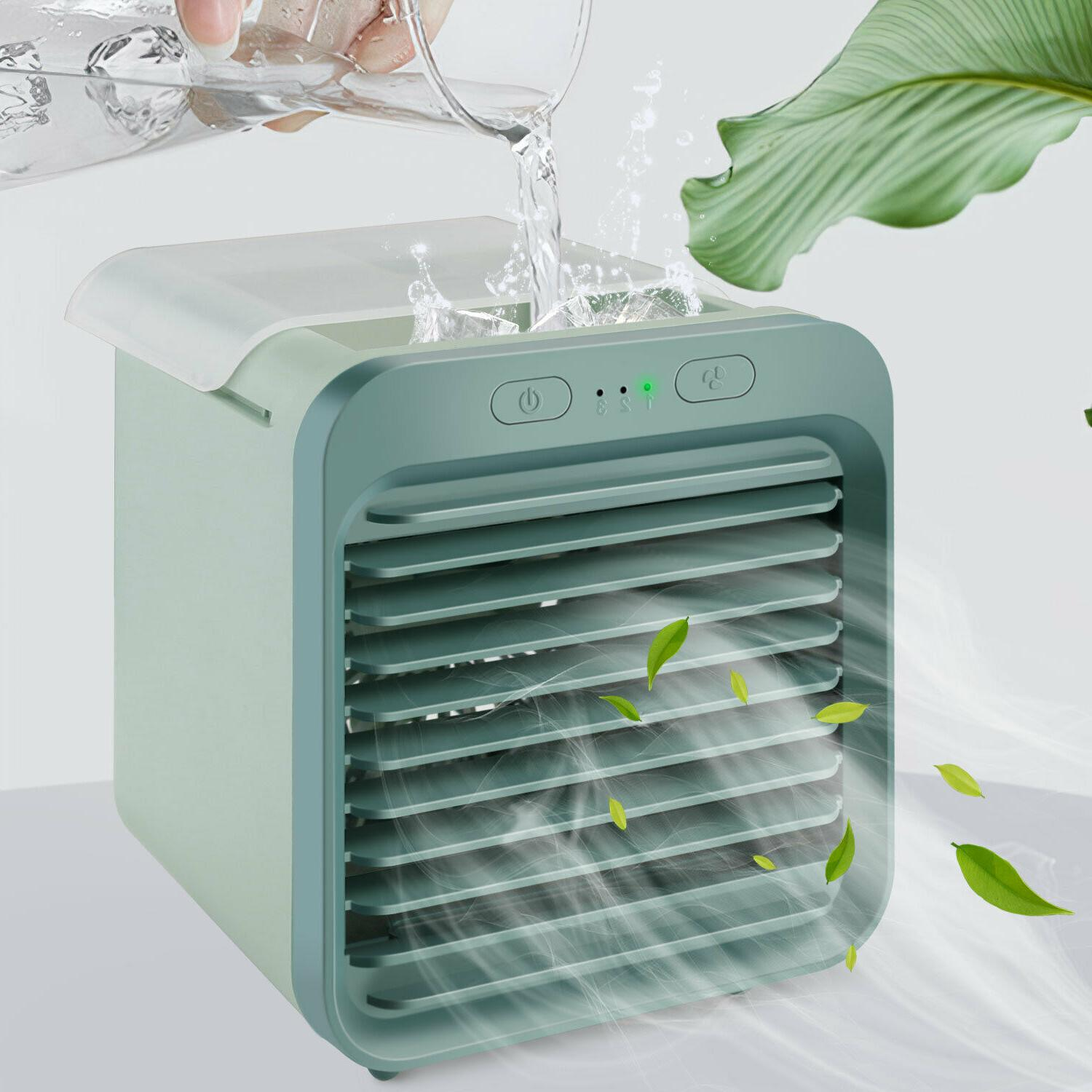 Portable Air Conditioner Cooler Fan Humidifier Purifier Home