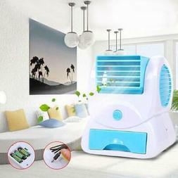 Mini Desktop Cooling Fan USB Battery Operated Air Conditione