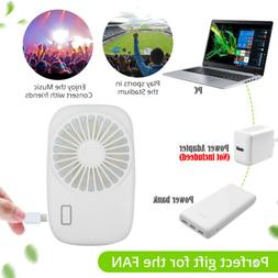 Best Portable Mini Hand Held USB Rechargeable Summer Air Con