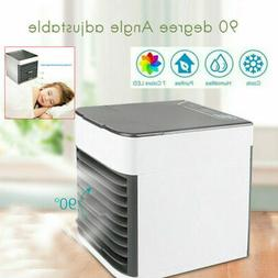 Mini LED Air Conditioner Cool Cooling Fan For Bedroom Room A
