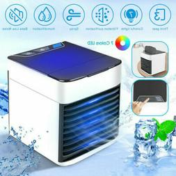 Mini USB Air Conditioner Humidifier Purifier Bedroom Desk Po