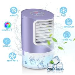 Personal Evaporative Air Cooler, Humidifier Portable Mini Sp