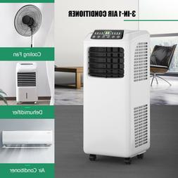 Portable Air Conditioner 8000 Btu Cooling With 3 Modes And 2