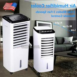 Portable Air Conditioner Evaporative Air Cooler Fan Humidifi