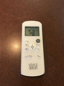 EASY HOME PORTABLE AIR CONDITIONER REMOTE REPLACEMENT REMOTE