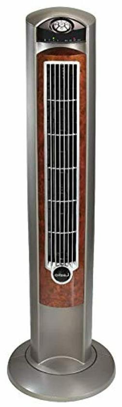 """Lasko Portable Electric 42"""" Oscillating Tower Fan with Night"""