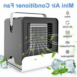 Portable Mini Air Conditioner Cool Cooling For Auto Car Bedr