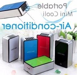 Rechargeable Mini Portable USB Fan Hand Held Air Conditioner
