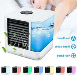 Portable Mini AC Air Conditioner 3 in 1 Unit LED Cooling Fan