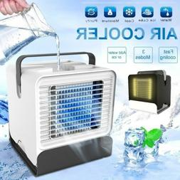 Portable Mini USB Air Conditioner Fan Air Cooler Humidifier