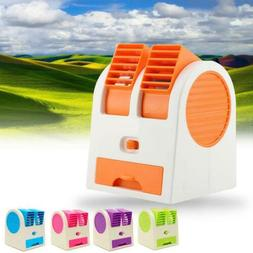 Portable USB Mini Air Conditioner Cool Fan Rechargeable for