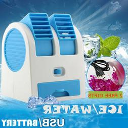 Rechargeable Portable Mini USB Air Conditioner Cooler Fan Fo