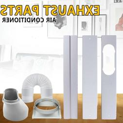 Window Adaptor+Kit Plate+Exhaust Hose/Tube For Air Condition